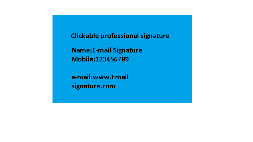 I will create and code your professional email signature