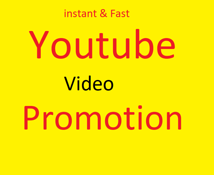 Organic grow your youtube video fast
