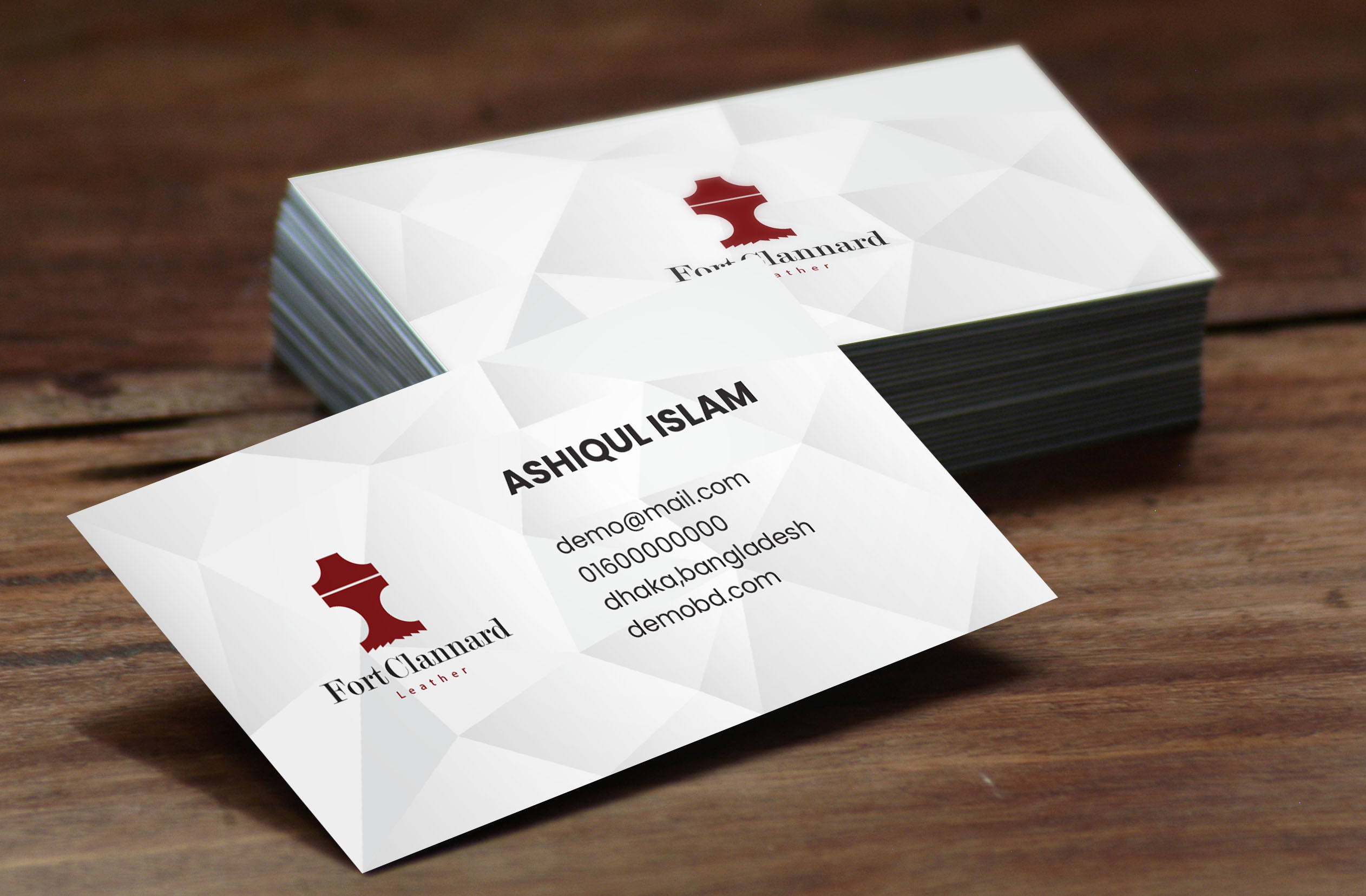 i can make all kind of business card