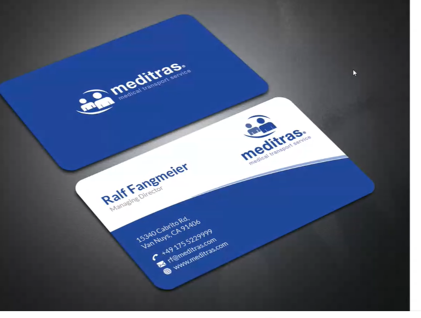 Professional and gorgeous style Business card desing.