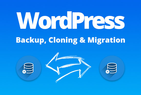 I will migrate or backup your wordpress website
