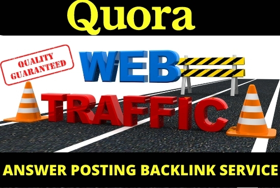 Promote your website 50 high-quality quora answer with your website link