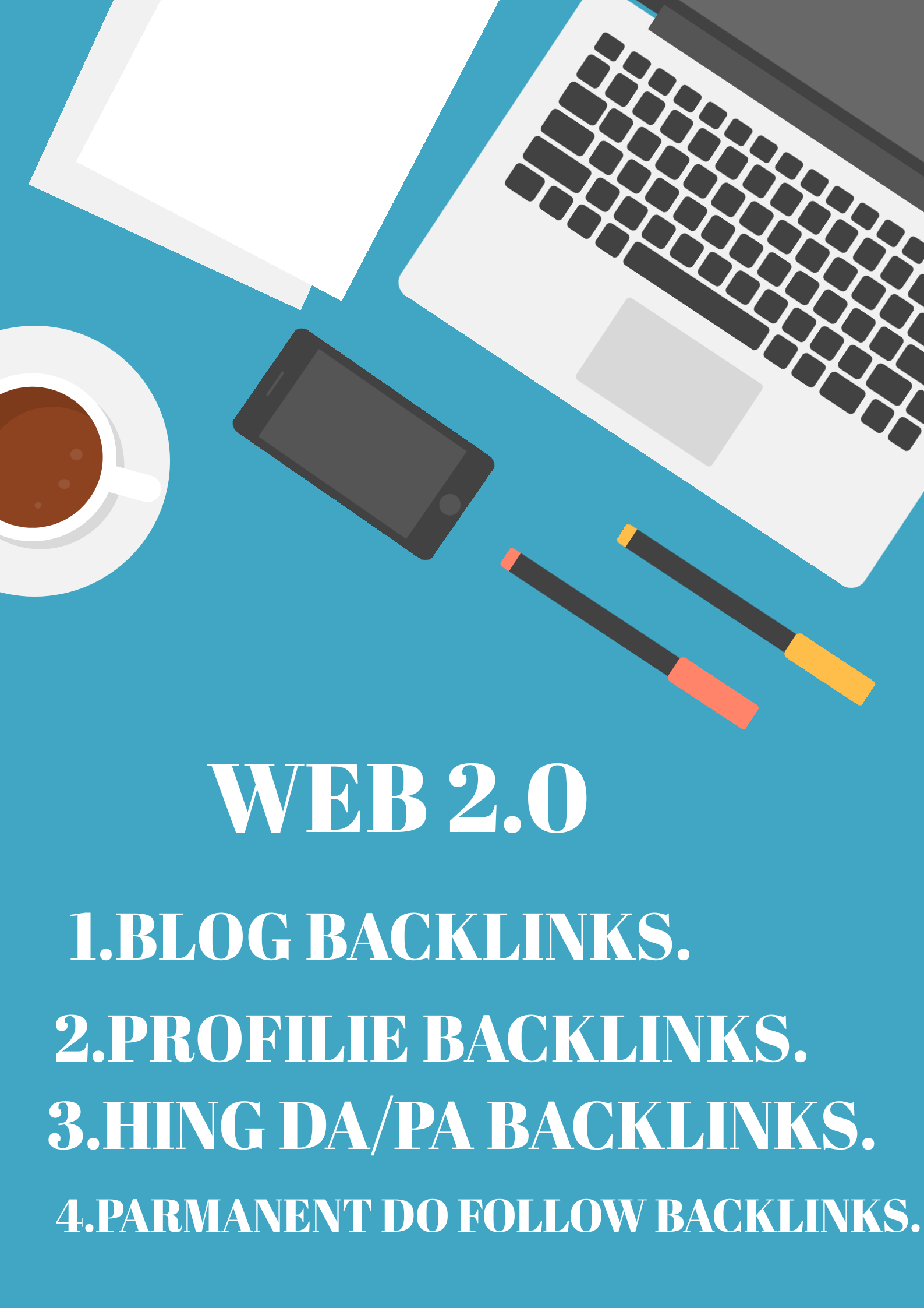I will do 50 accurate web 2.0 backlinks