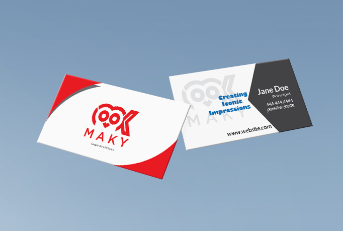 I am here to provide you awesome modern business card