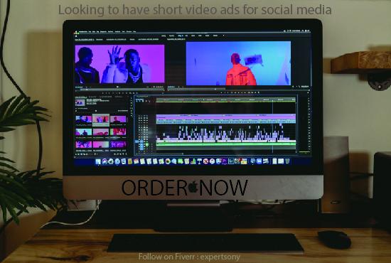 I will create short video ads for social media or website