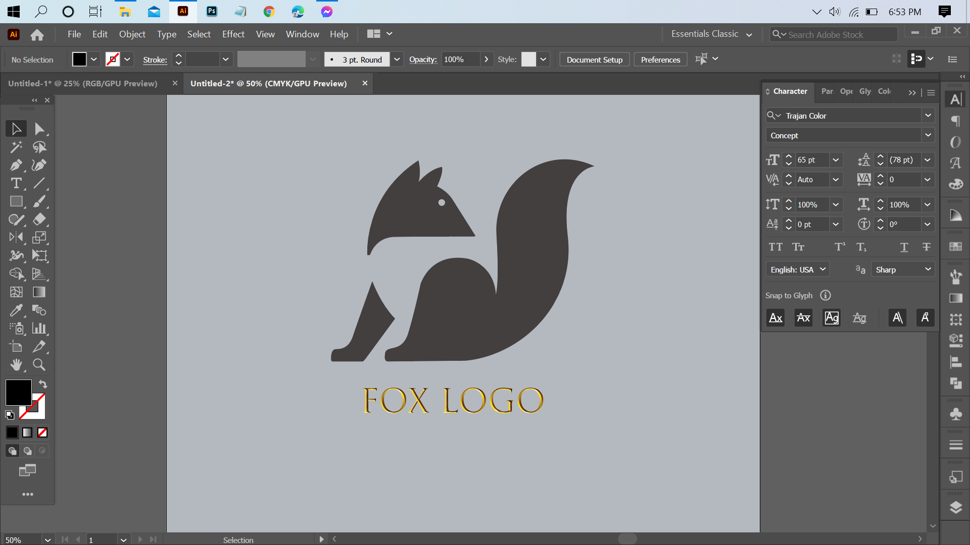 I will design a creative logo for you instantly