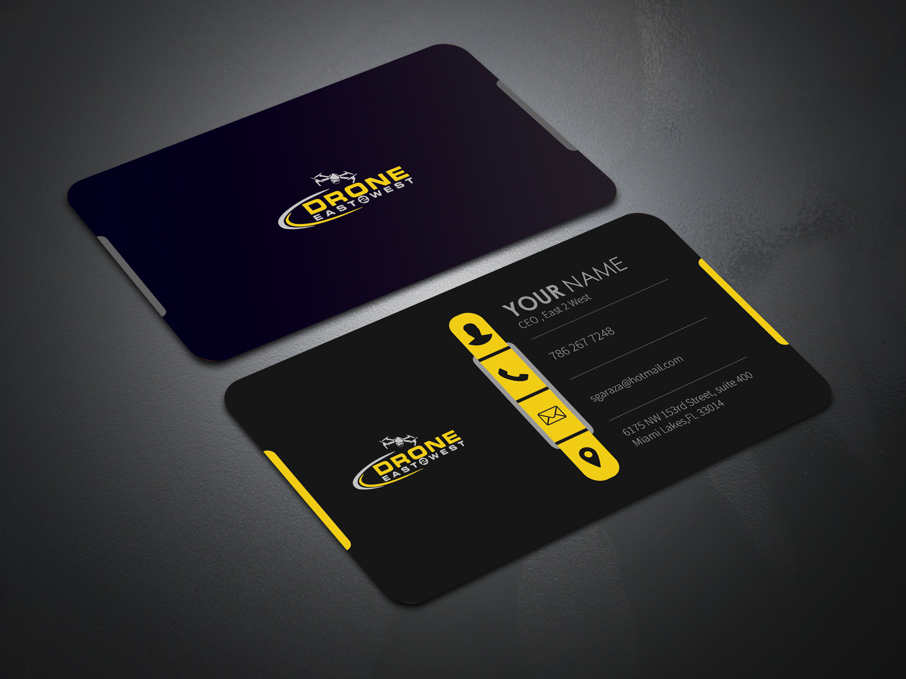 I will design a luxury modern creative and unique business card