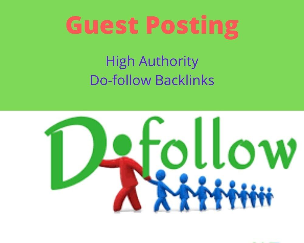I will create 10 dofollow backlinks