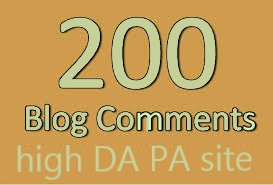 I Will Create Manually 200 Blog Comments Dofollow Link On High Da Site