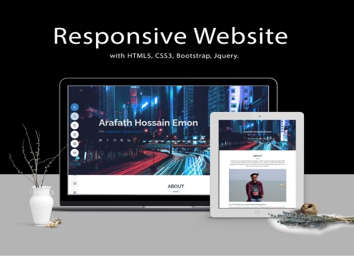 i will design a professional and responsive wordpress website.