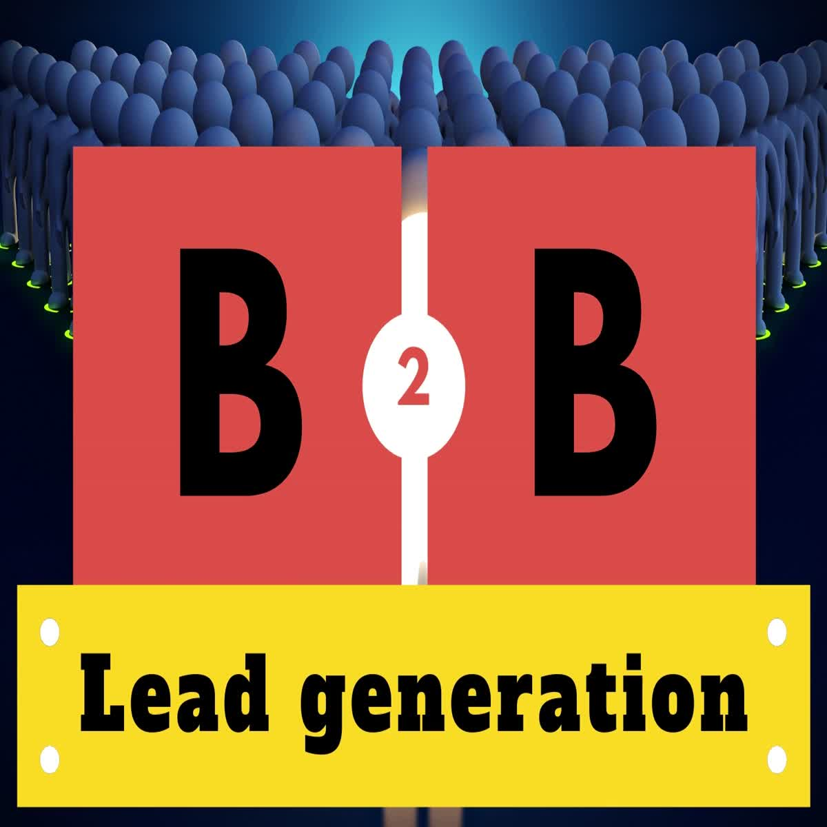 I will do 100 exact B2B lead generation and create a massive email list through online directory