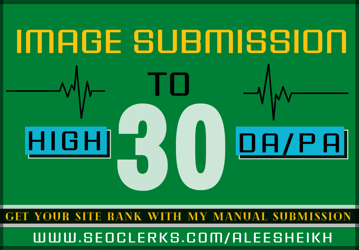 I will do infographic submission to 30 high DA & PA image sharing sites