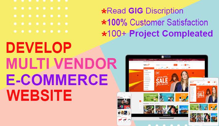 I will develop wordpress woocommerce multi vendor marketplace