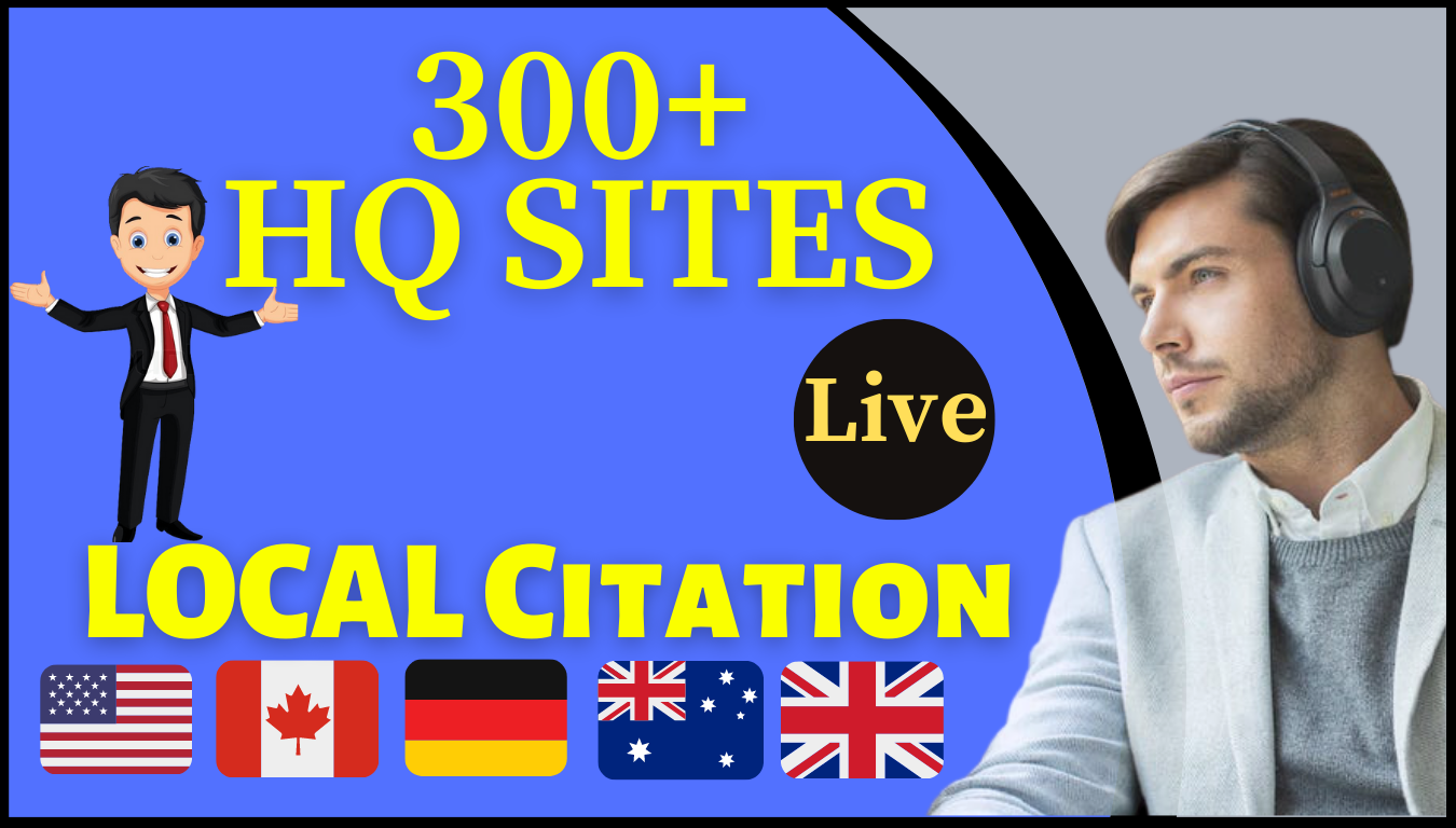 I will create local SEO for 25 local citations listing