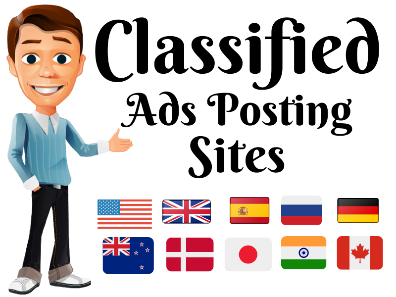 I will do 25 classified ads posting your website top rated sites