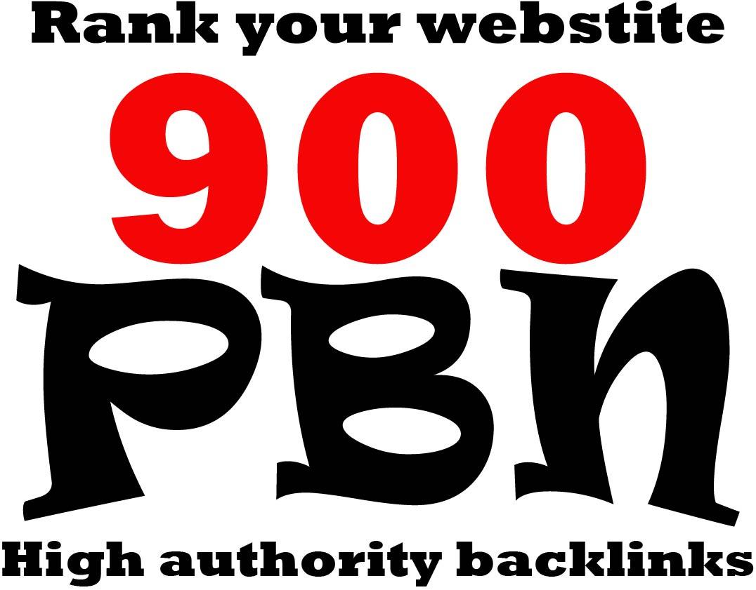 make 900 high quality authority SEO pbn backlinks link building
