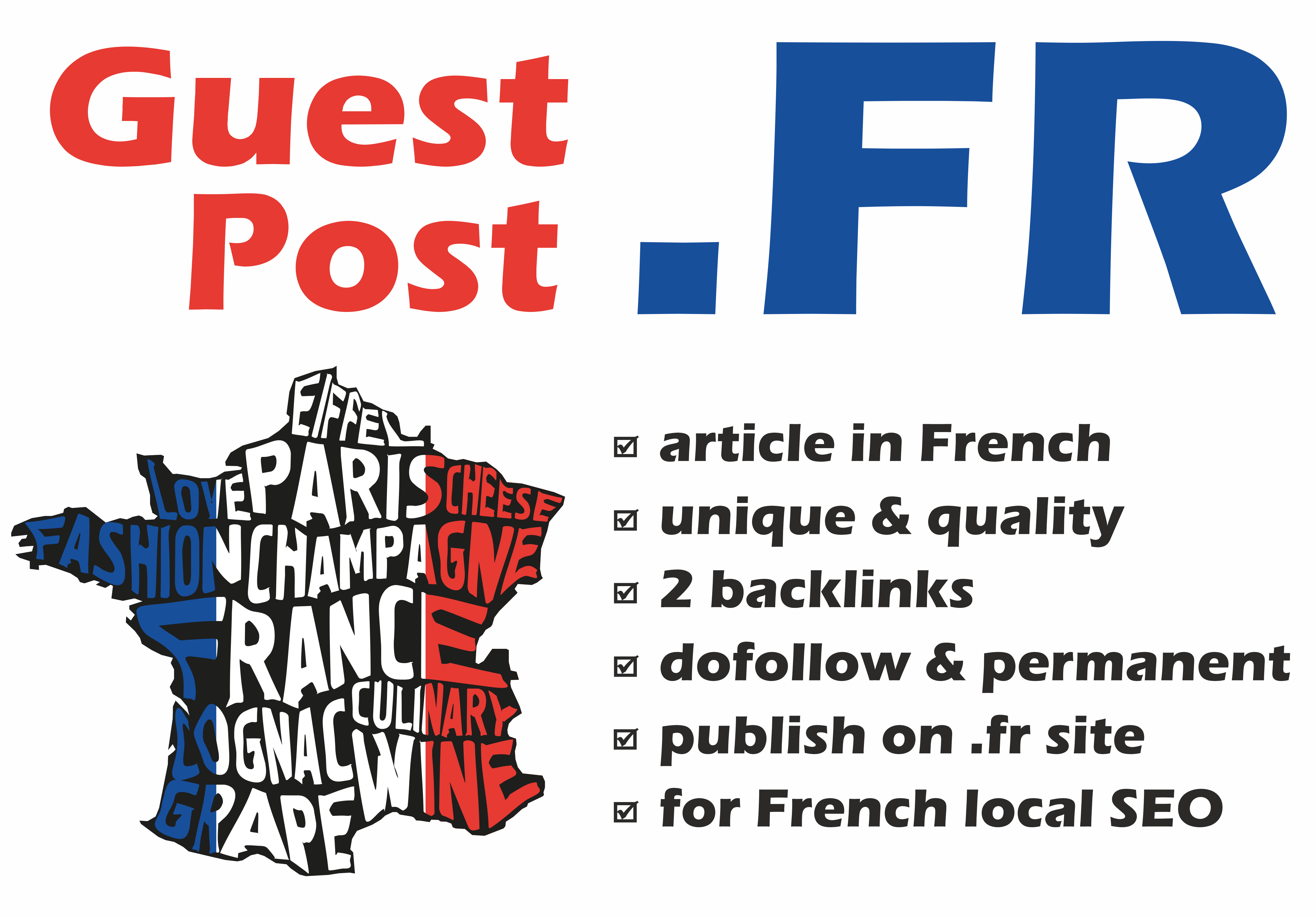 French Gust Post on. FR website for local SEO in France