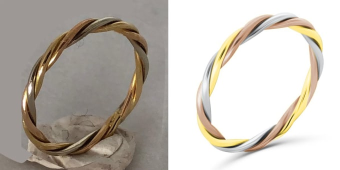 I will do jewelry retouch product image editing