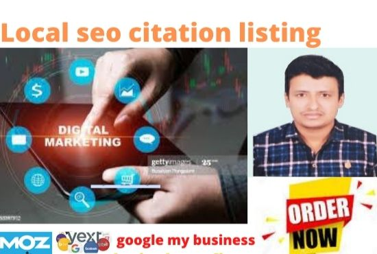 I will do local seo citation listing from moz and yext for google