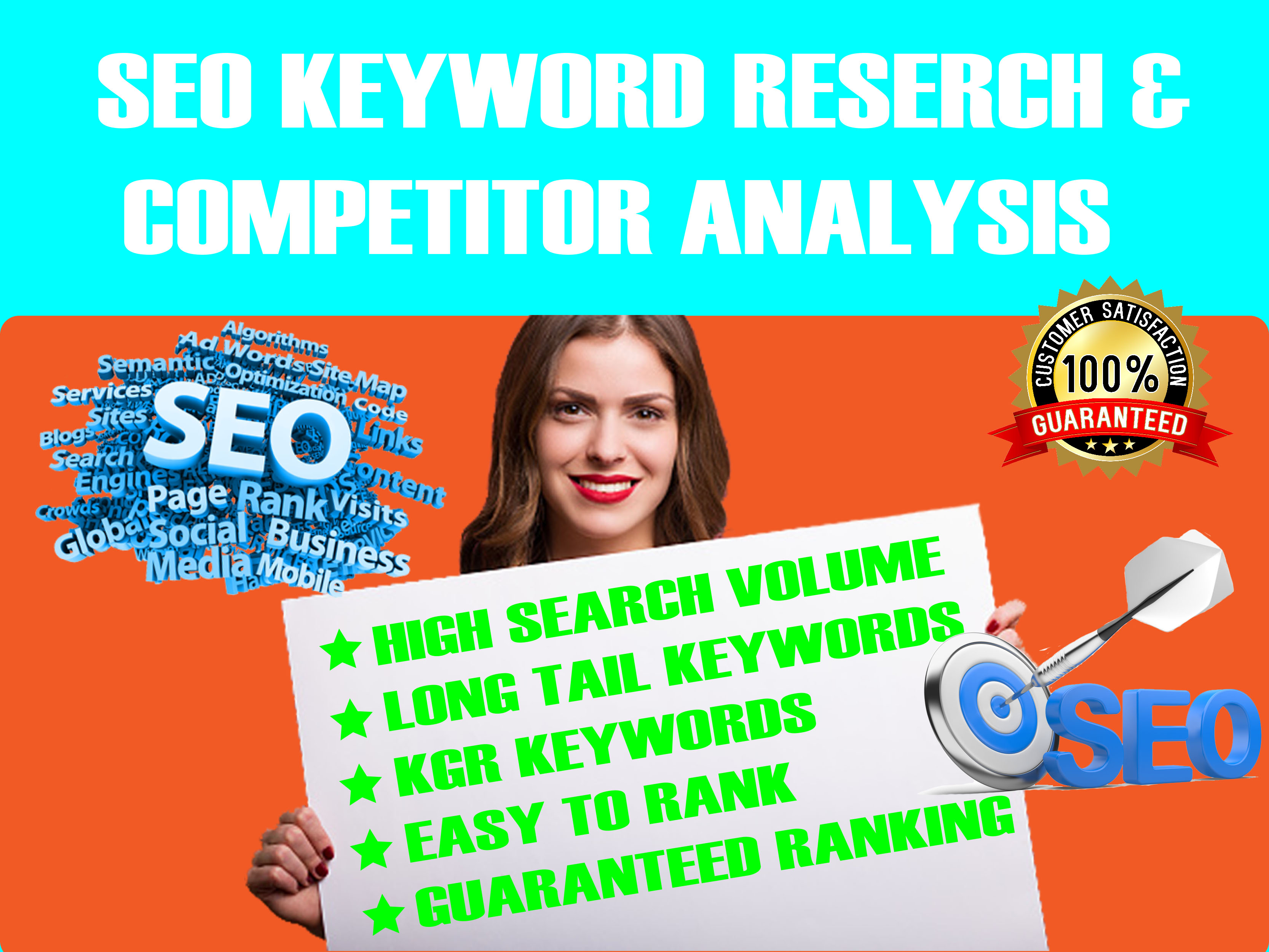 I will do keyword research I am an expert in keyword research