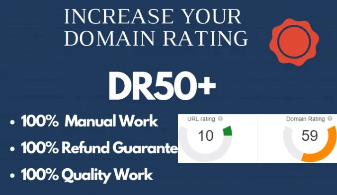 Boost your website DR to 50 plus
