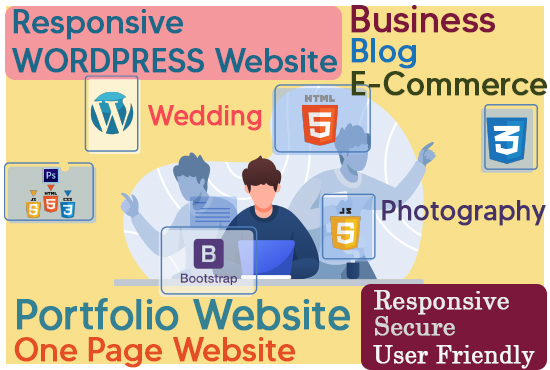 I will make a professional WORDPRESS website using necessary Plugins and provide virtual assistance