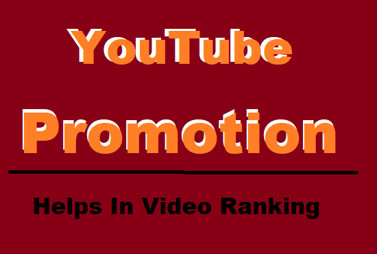Do YouTube Promotion and Helps in Video Ranking with Best Package