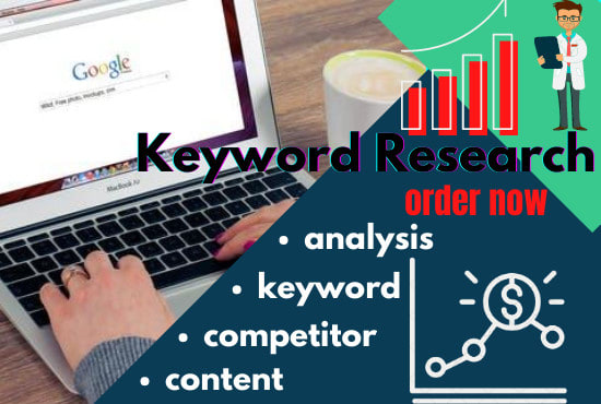 i will provide amazing SEO keyword research with competitor analysis for rank