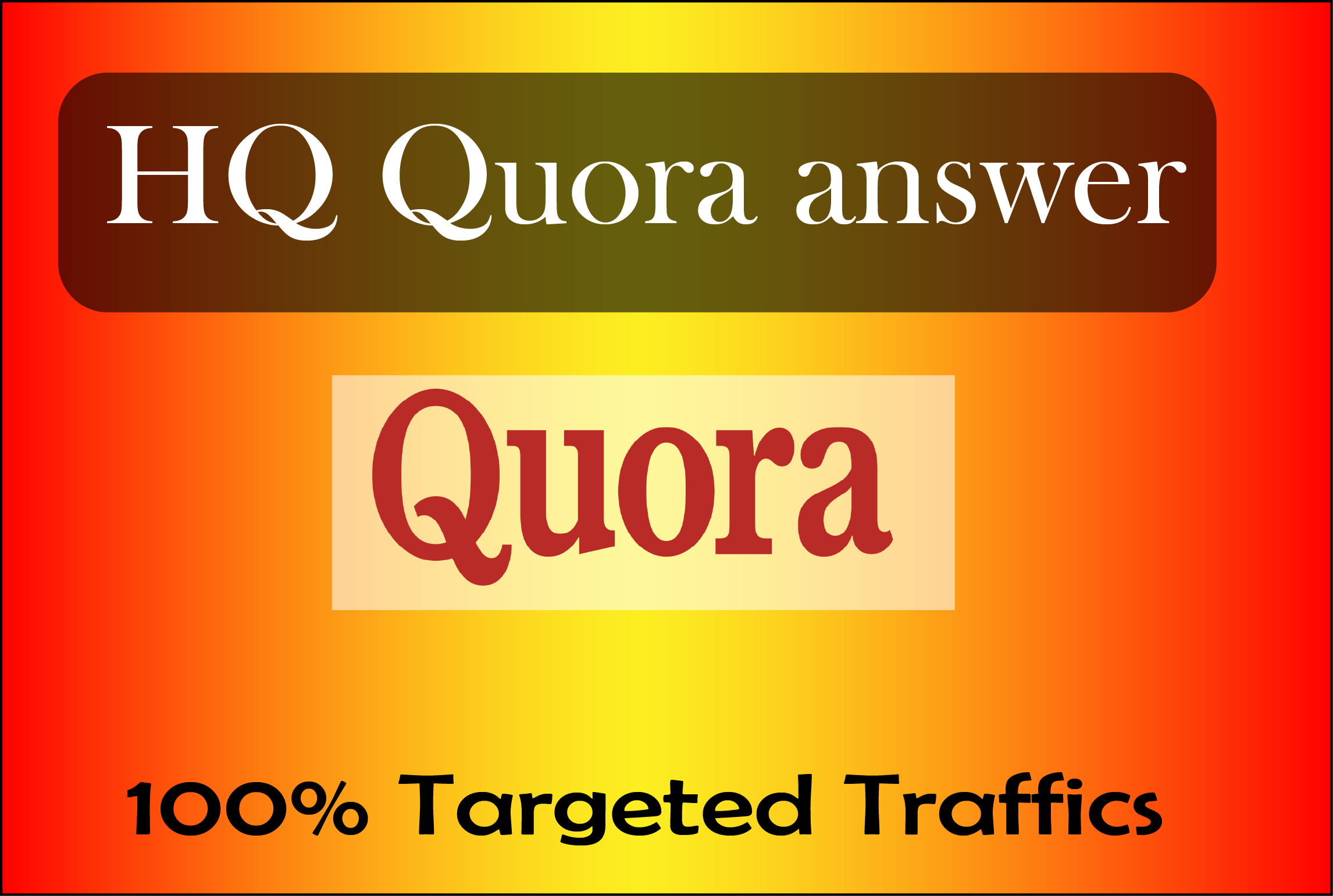 15 HQ Quora Answers For Guaranteed Traffic