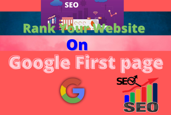 I will rank your website on the first page of google