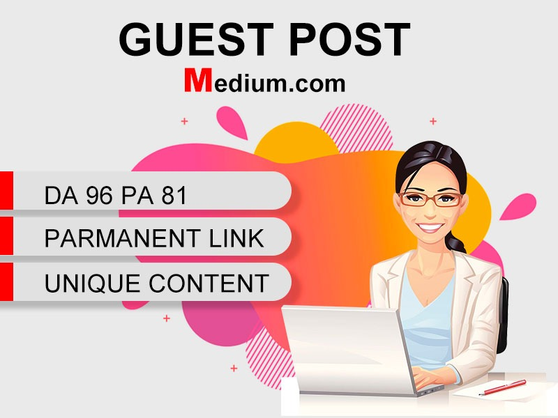 I Will Write and Publish Guest Post Backlink On Medium. com