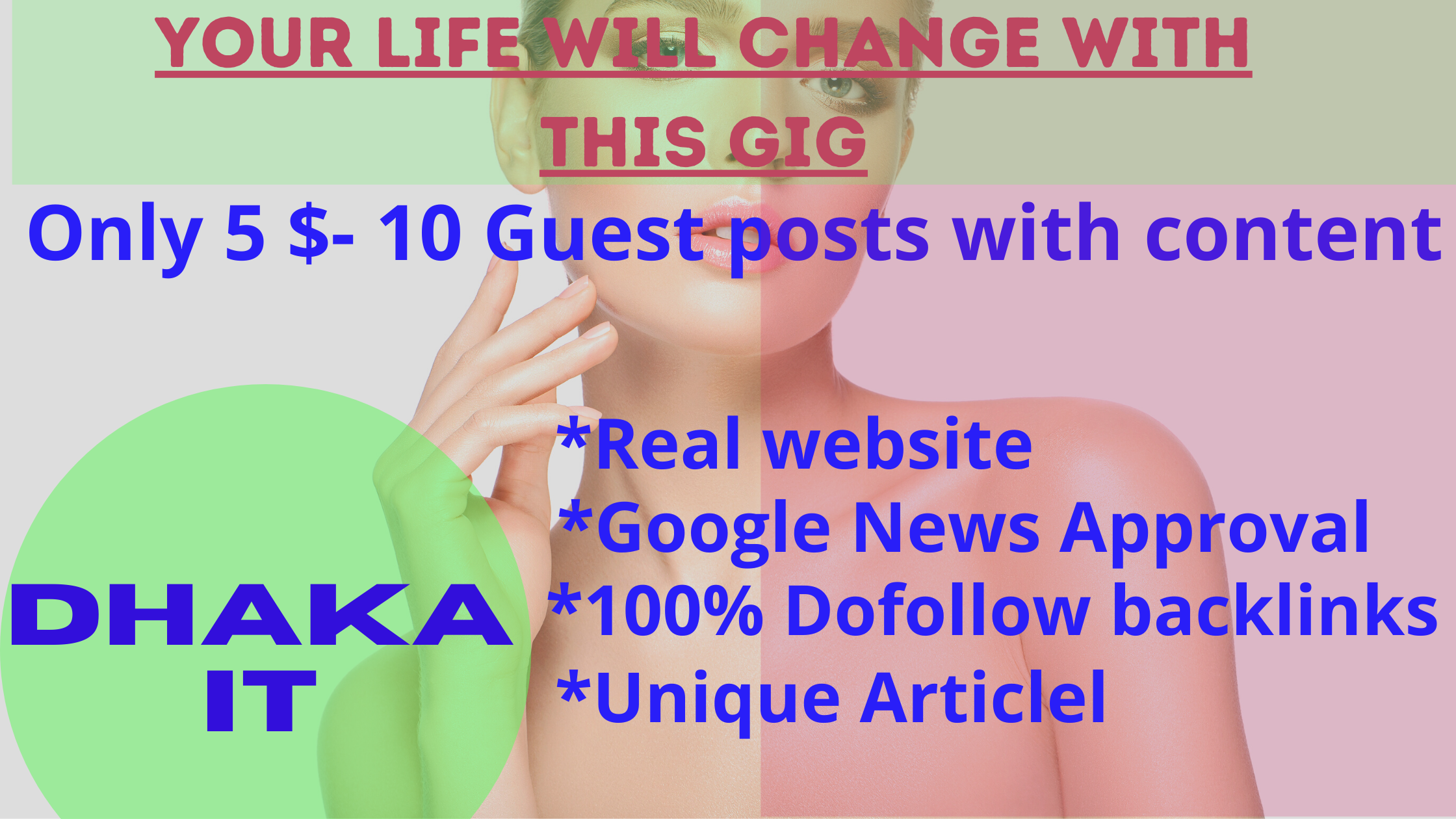 I will post 10 unique guest post with reasonable price