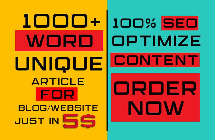 1000 SEO website content writing and blog writing