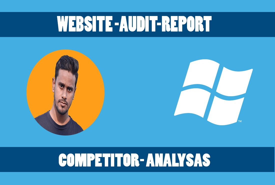 Website audit report competitor analysis