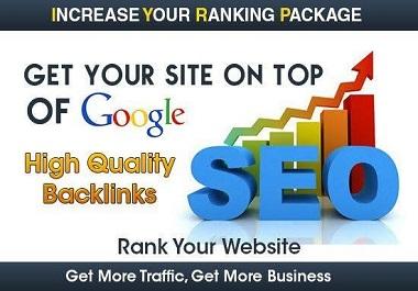 Creat new high DA Domain Authority 50+Do follow backlink.