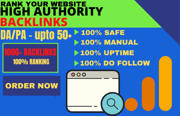 BUILD 1000 backlinks BUY MANUALLY DA 50+ PA 60+ web 2.0 1000 Powerful web2.0 backlinks