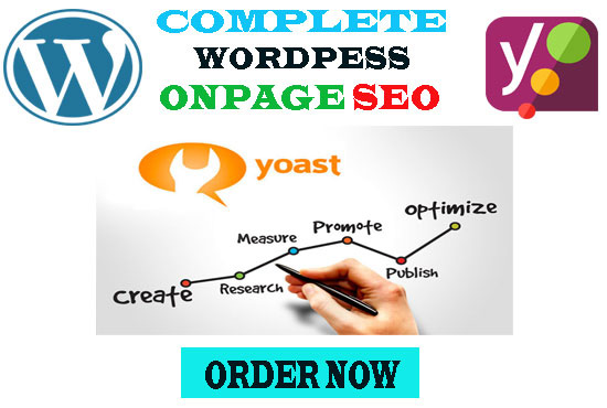 I will do onpage optimization with yoast seo plugin