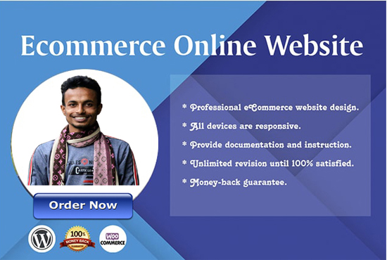 I will create Wordpress responsive E-commerce website
