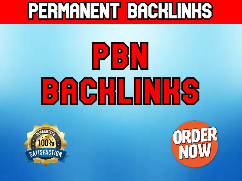 50 Permanent PBN Backlinks to increase website ranking