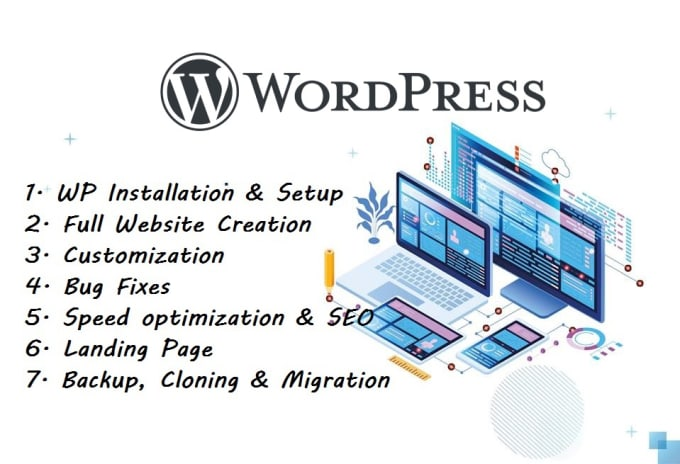 I will create professional and responsive WordPress website, blog site, Woo-Commerce Store