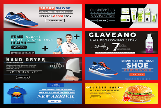 I will design customized 2 social media banners and posts