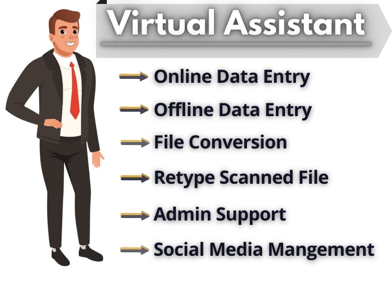 I will be your faithful virtual assistant