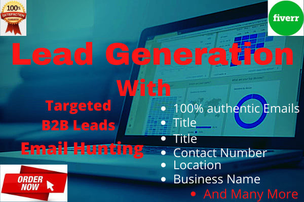I will do targeted b2b lead generation for any industry