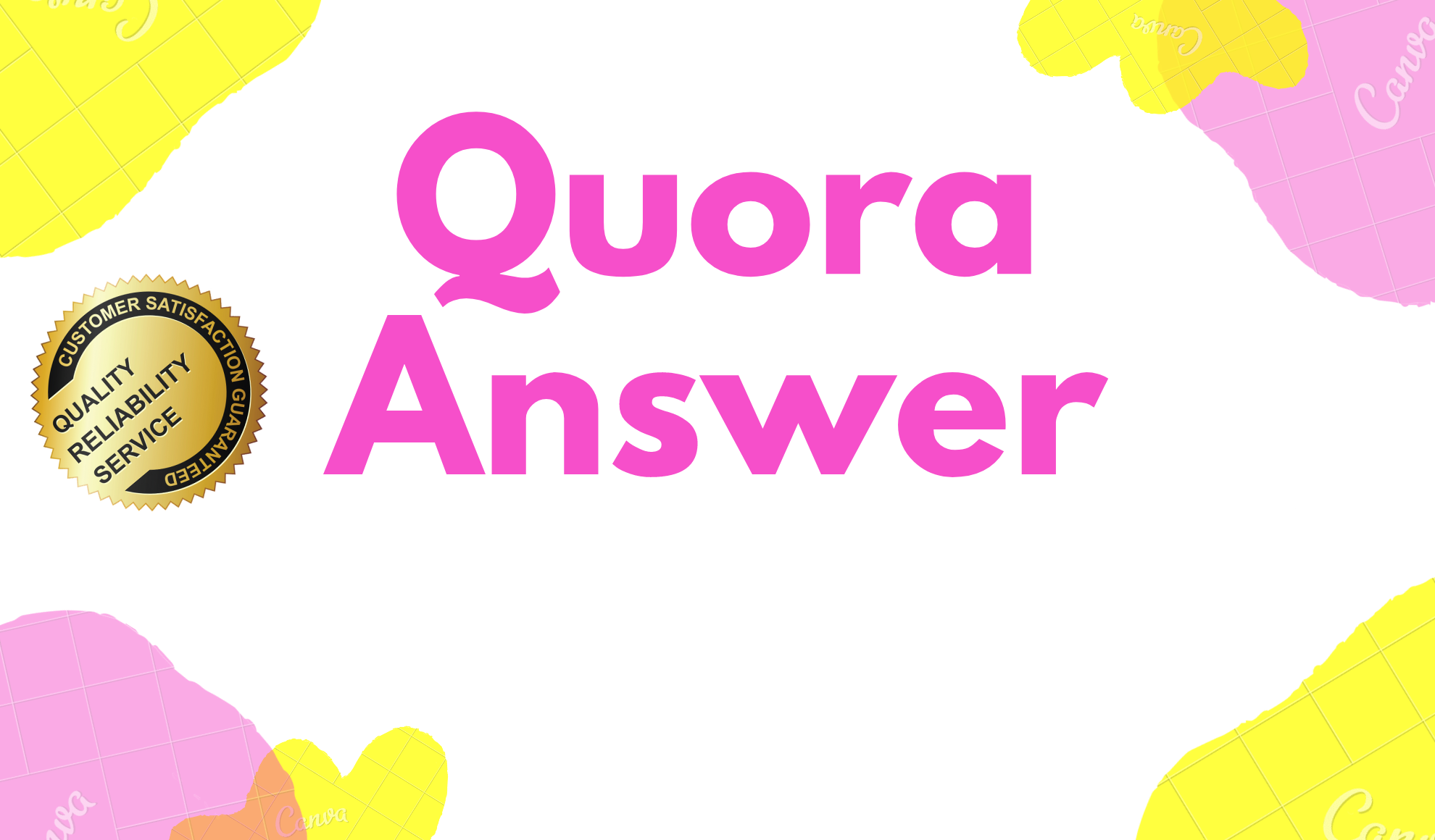 I will Promote your website by Keyword Related 5 HQ quora Answer with backlink