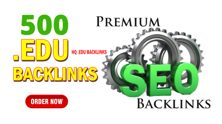 High quality 500 Edu and Gov Backlinks