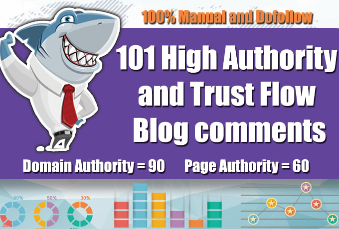 do 105 high quality dofollow blog comments backlinks for website