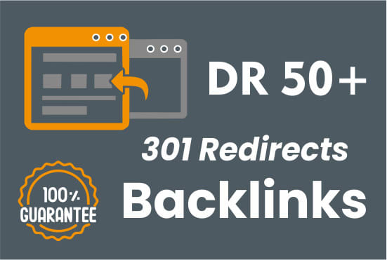 build high dr backlinks for your sites via 301 redirects