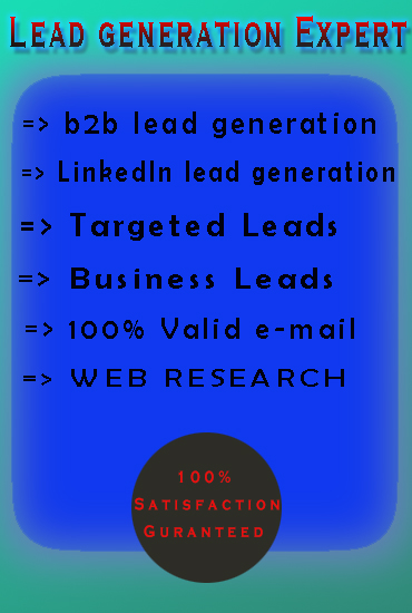 Best lead generation expert for your business