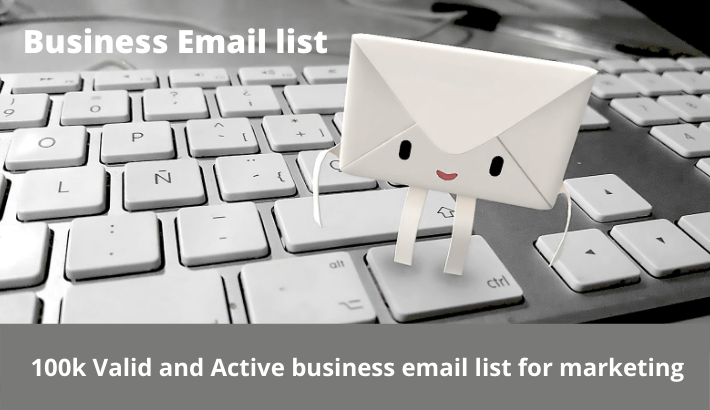 I will provide you 100k Active business email list for marketing
