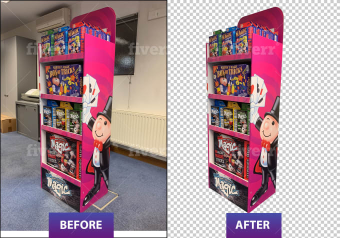 I will remove background from image professionally in 24 hour